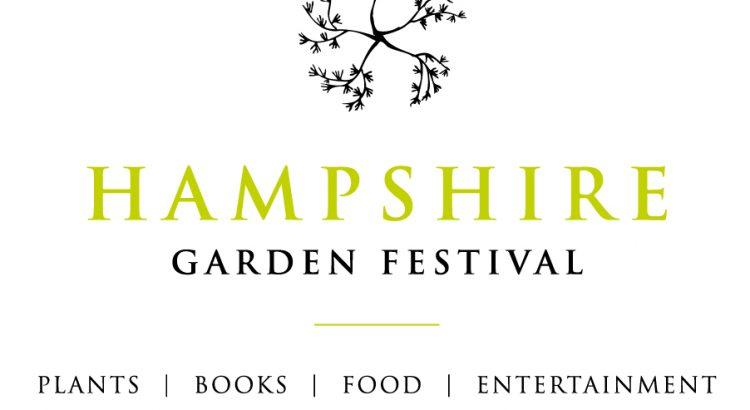 Hampshire garden festival logo