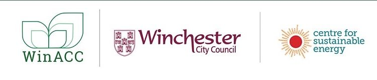 logos for Winacc, WCC and centre for sustainable energy